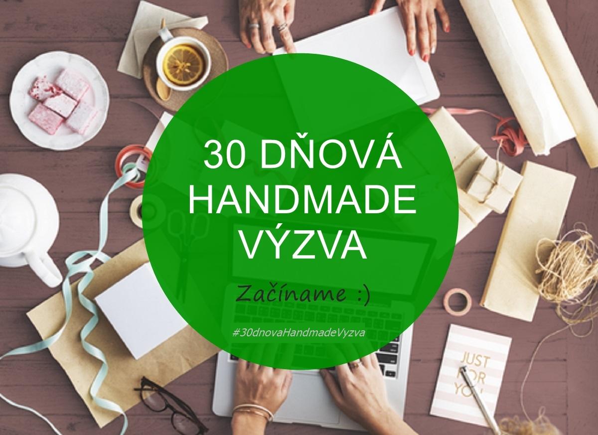 30 dnova handmade vyzva
