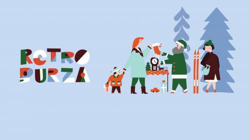 Vianočné handmade trhy - retro burza
